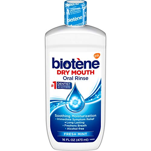 biotène Oral Rinse Mouthwash for Dry Mouth, Breath...