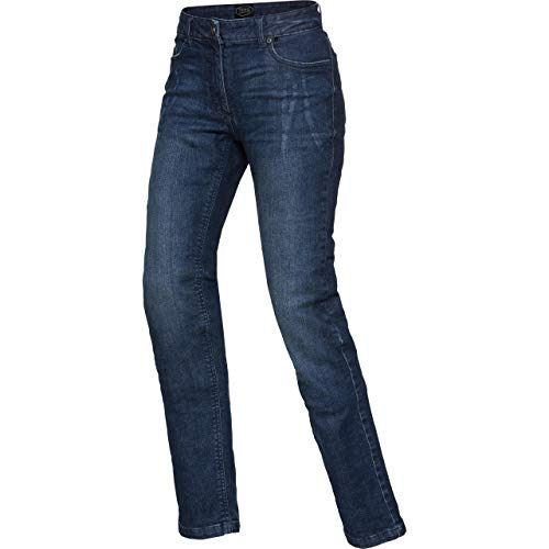 Spirit Motors Motorrad Jeans Motorradhose Motorradjeans Damen Aramid-/Baumwolljeans Stretch 3.0 blau 36/32, Chopper/Cruiser, Ganzjährig, Textil