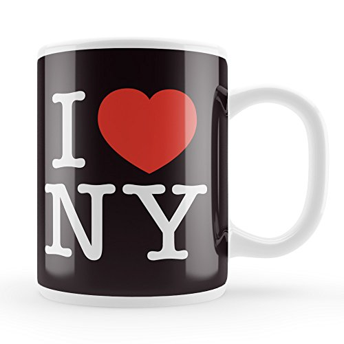 I Love New York noir et blanc Par Pearson Tom Tasse en céramique