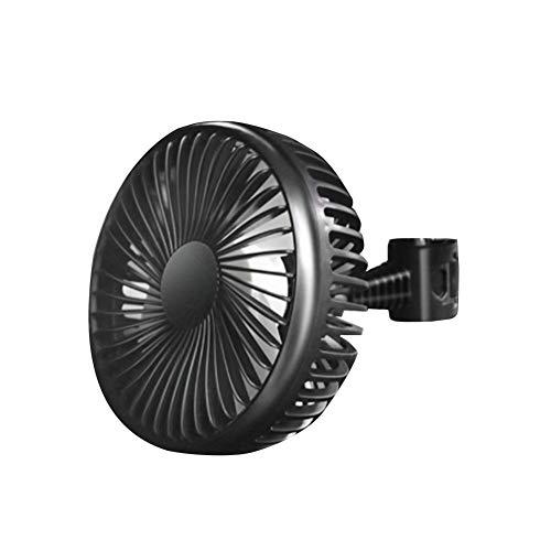 Eruditter Turbo-Ventilator USB Luftkühler 12V/24V 360 ° Drehung Für Auto-LKW-Bagger, Dritter Gang Einstellbare Windgeschwindigkeit