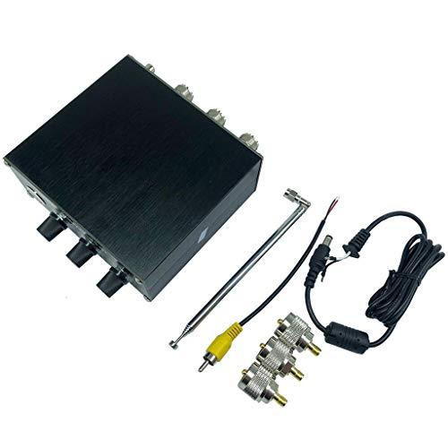 ZZALLLEliminator X-Phase 1MHz a 30MHz HF Bands Conectores SO-239 con Carcasa