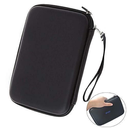 7 inch Hard Shell Carrying Case GPS Bag with USB Cable Car Charger Mesh Pocket GPS Navigation Pouch for 6 - 7 inch Garmin Nuvi Tomtom Magella