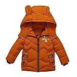 Manteaux bébé, YUYOUG Winter Jacket Blouson Manteau Chaud Ski Vêtement Mélangées Pas Cher Parka pour Bébé Enfant Fille Garçon (1-2 Ans, Green)