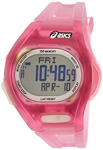 Asics AR08 Sportuhr Pink-Transparent Kunststoffarmband CQAR0804