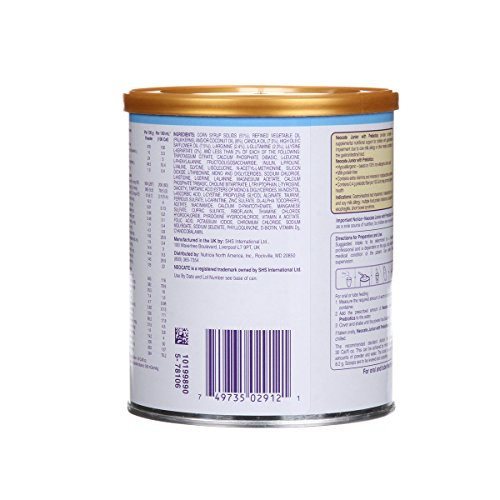 Neocate Junior with Prebiotics, Unflavored, 14.1 oz / 400 g (Case of 4 cans)