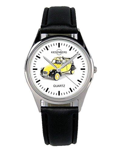 Geschenk für 2CV Charleston Oldtimer Fans Fahrer Kiesenberg Uhr B-1822