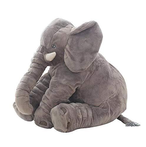 Stuffed Animals 1pc 60cm Fashion Baby Animal Plush Elephant Doll Stuffed Elephant Plush Pillow Kids Toy Children Room Bed Decoration Toys-grey-40cm-40cm