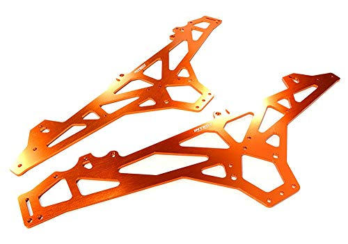 Integy RC Model Hop-ups C26394ORANGE Billet Machined Main Chassis for HPI 1/10 Scale Crawler King