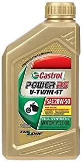 Castrol Power RS V Twin 4T 20W50 Synthetic Oil 1 Quart 06080