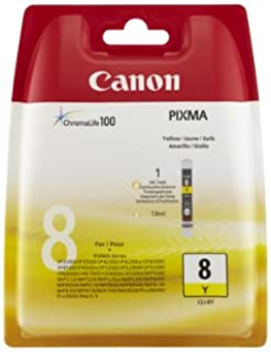 Canon CLI-8 Ink Cartridge, Yellow - in Retail Packaging