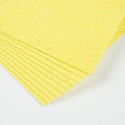 A4 10PC Flash Esponja gruesa Papel Polvo de goma EVA Espuma Papel DIY Papel Craft Scrapbook Origami Decoración