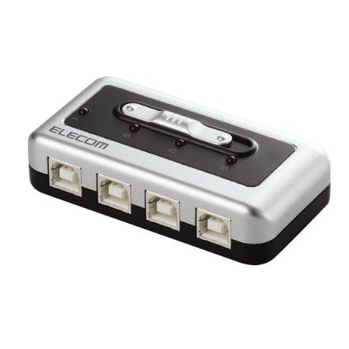 エレコム USB切替器 USB2.0/1.1準拠 U2SW-Tシリーズ 4回路 U2SW-T4 ELECOM