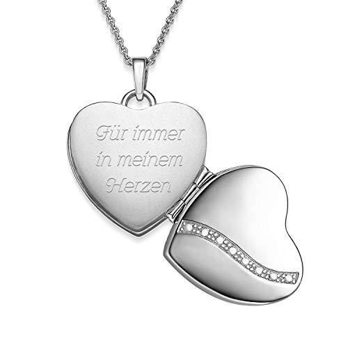 Amoonìc -  Medaillon Herz