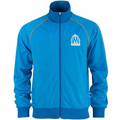 Olympique Marseille Jungen-Jacke mit Reißverschluss, offizielle Kollektion für 4-Jährige blau