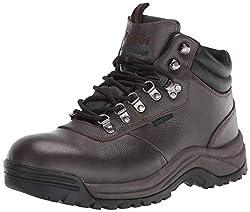 cheap Propet Cliff Walker Men's Hiking Shoes, Bronco Brown, 16 Width