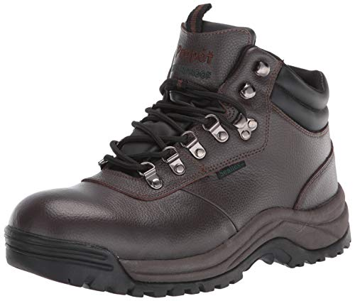 Propet Men's Cliff Walker Boot, Brown Crazy Horse