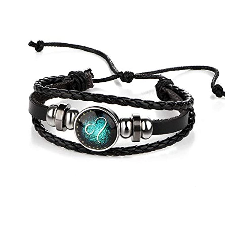 TAFAE jewerly for Women - Constelltion Chrm S and Bngles Women Men Punk Cuff - Leo Bjla5114