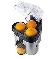 ✓ Elegante design e colore nero silver ✓ Innovativo sistema 'taglia e spremi' ✓ 2 coni spremi agrumi ✓ Facile da ripulire e lavabile in lavapiatti