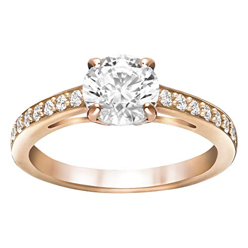 SWAROVSKI Damen-Ringe Edelstahl Kristall \'- Ringgröße 60 5184204