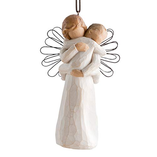 Willow Tree Angel's Embrace Ornament, Sculpted Hand-Painted Figure