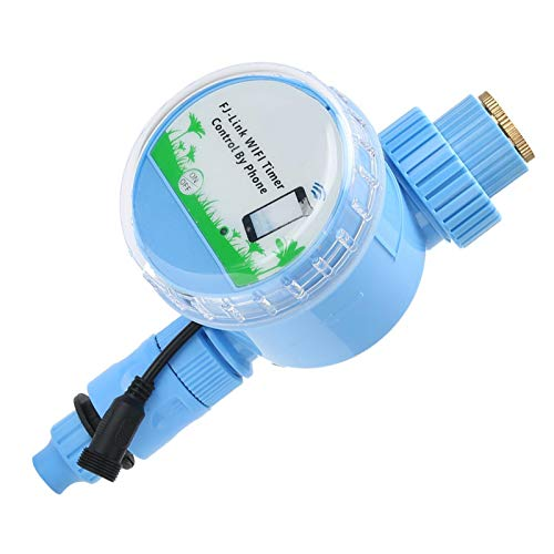 ROMACK Temporizador de riego, fácil de Usar Temporizador de riego automático práctico y Conveniente Sistema de riego Inteligente WiFi para jardín al Aire Libre para césped para Patio