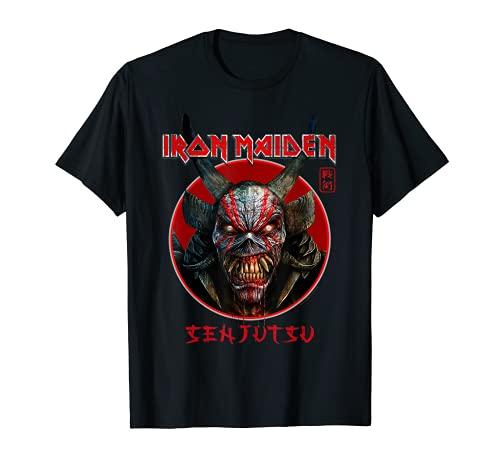 Iron Maiden - Círculo de cara de Eddie Senjutsu Camiseta