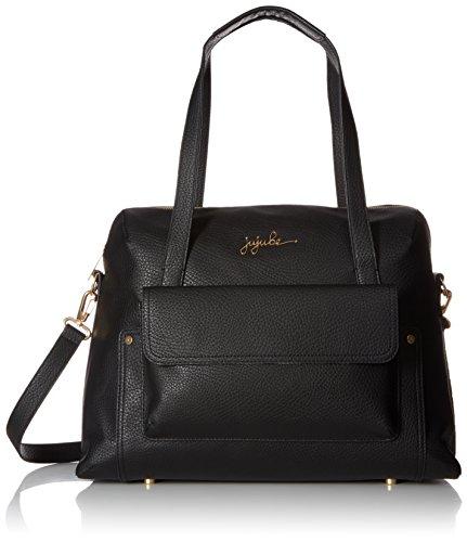 JuJuBe 17LB02LG-NOR Wherever Weekender - Changing Bag Vegan Leather - Noir