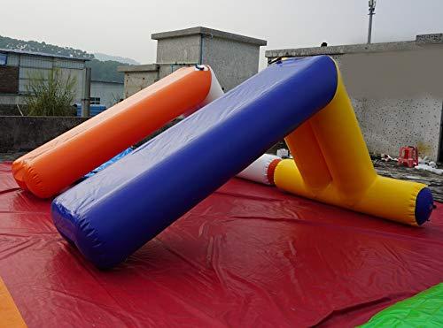 Juegos hinchables acuáticos, Cama elástica, balancín, Pulpo Hinchable, Flip-IP volteador Cuadrado, tobogan de Piscina, ovni, Pasarela Hinchable (Tobogan Hinchable 4 x 2 m)