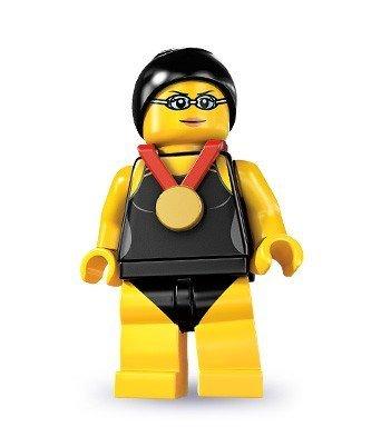 Lego - Mini Figuras - Serie 7 - Swimming Champion