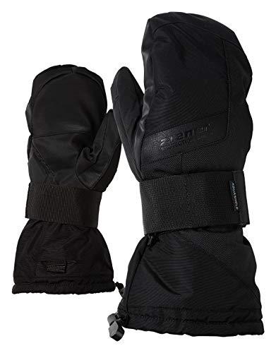 Ziener MITTIS AS(R) MITTEN glove SB rękawice snowboardowe, czarne (black hb), 7.5