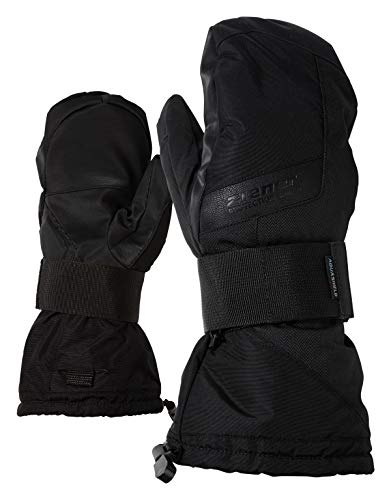 Ziener Erwachsene MITTIS AS(R) MITTEN glove SB Snowboard-handschuhe, schwarz (black hb), 9