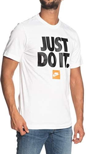 Nike Camiseta Sportswear Blanco para Hombre - BV7662 Just Do It