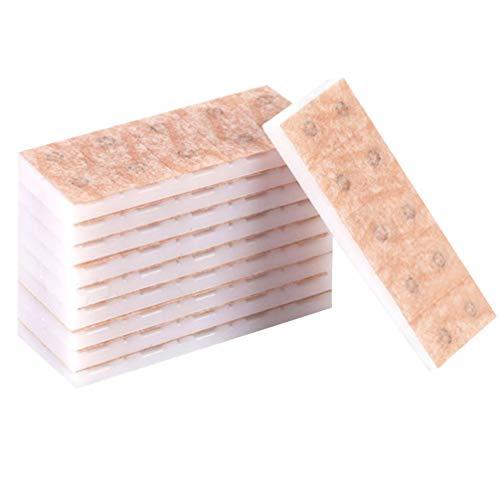 Healifty 100Pcs Oreille Presse Graines Type Aiguille pour La Perte de Poids Arrêter de Fumer Maux de Dos Maux de Tête Stress Oreille Acupuncture Patchs de Presse Jetables