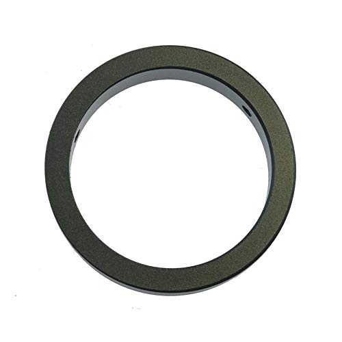 CNluca Camera Table Stand Microscope Monocular C Mount Lens Ring Adapter 50mm to 40mm Ring Adapter Camera Accessories Black