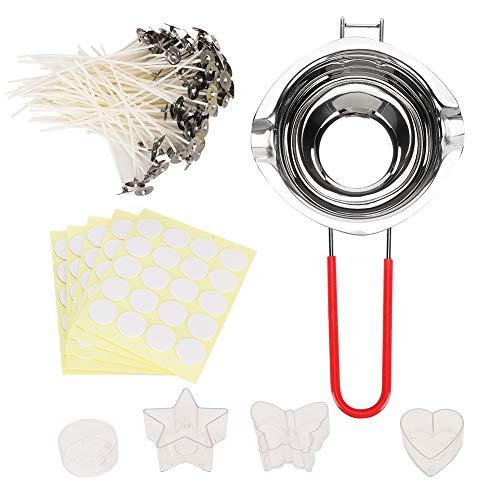 Fabater Praktisches Kerzenherstellungswerkzeug aus rostfreiem Stahl, Lieferung von Umweltkerzen, Stabilisieren zum Schmelzen von Butter Schmelzkäse