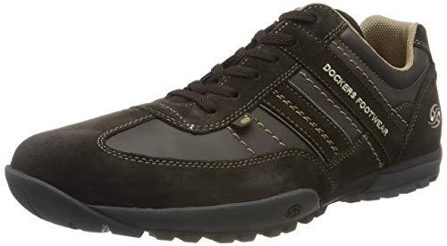Dockers by Gerli Herren 36HT001 Sneaker, Braun (Schoko/Schoko 370), 42 EU