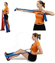 2 x de gimnasia fitness entrenamiento cinta Wii Sports muy cinta - látex 200 cm