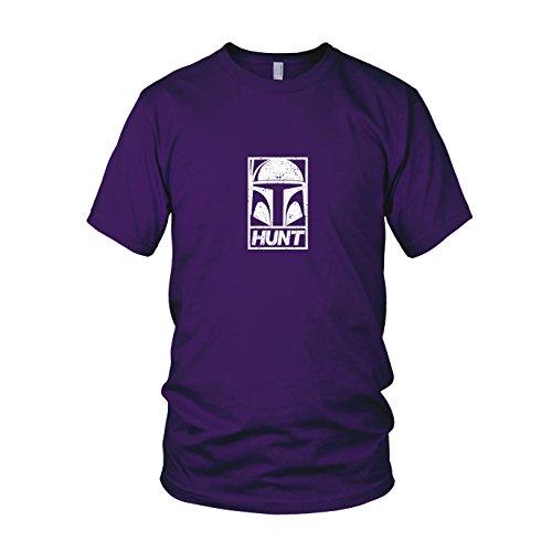 SW: Boba Hunt - Herren T-Shirt, Größe: XXL, Farbe: lila