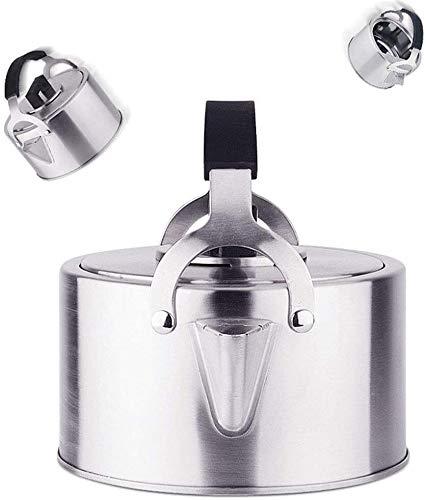 Bouilloire induction Théière Premium Sifflent Tea Bouilloire en acier inoxydable Induction électrique Induction de cuisson de cuisson de la bouilloire eau Camping Teap Teat WHLONG