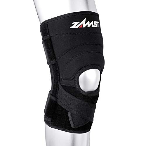 Zamst ZK-7 Genouillère stabilisation ligamentaire latéraux croisés forte Noir M