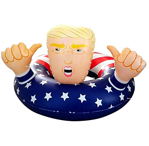 NinoStar Pool Float Donald Trump Best Inflatable for The Summer, Fun Swimming Floats for Pool Party