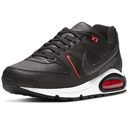Nike Air MAX Command, Zapatillas para Correr Hombre, Black Dk Smoke Grey BRT Crimson White, 47.5 EU