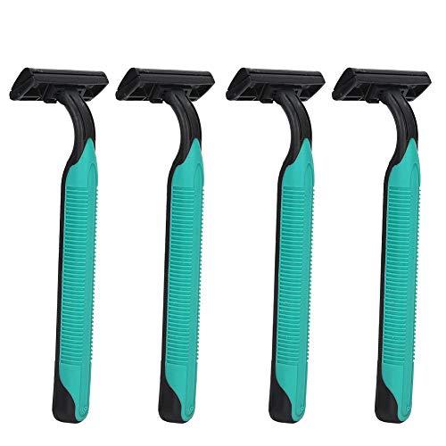 Rasoirs 4pcs pour femmes, rasoirs manuels professionnels d'épilation