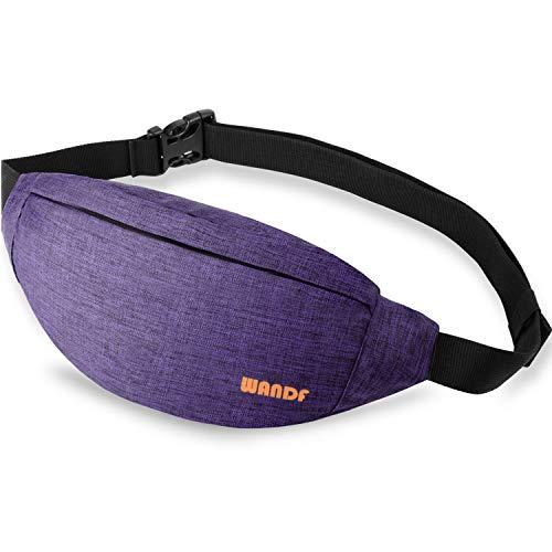 Gürteltasche Bauchtasche für Damen Einstellbare Bum Hüfte Hüfttasche für Sport Laufen Joggen Wandern