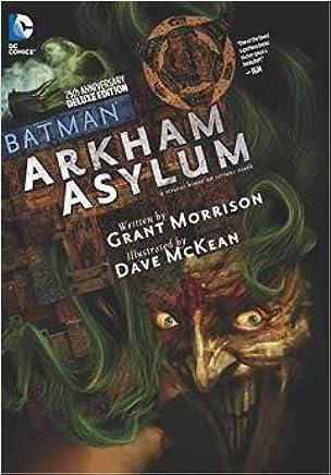 [Batman Arkham Asylum] (By (artist) Dave McKean , By (author) Grant Morrison) [published: November, 2014]