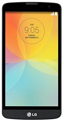 LG L Bello Smartphone (5 Zoll (12,7 cm) Touch-Bildschirm, 8 GB Speicher, Android 4.4) titanschwarz