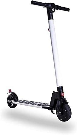 Gotrax TT-EL-601 Blanco-Negro Patin ELECTRICO para niños/as ...
