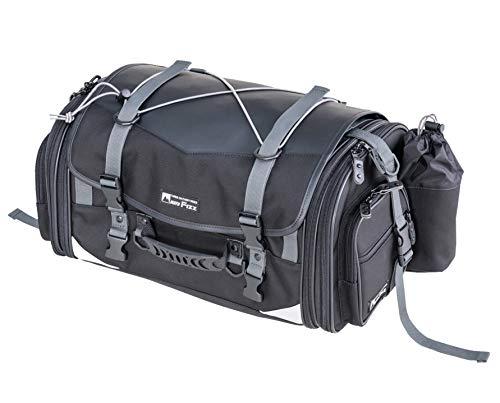 タナックス MOTOFIZZ ミドルフィールド シートバッグ (可変容量29-40ℓ) ブラック MFK-233