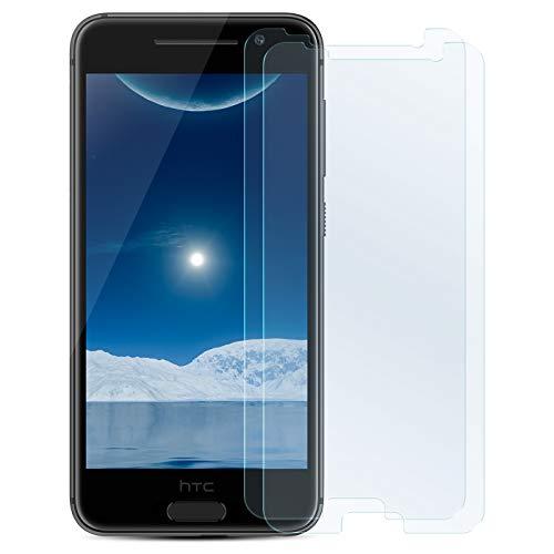 ZhinkArts 2X Bildschirmschutz Panzer Folie für HTC Desire 626 Bildschirmfolie Panzerglas Echt Glas Schutzglas 9H
