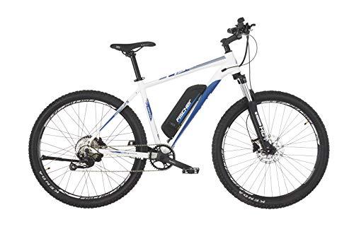 Fischer E-Bike MTB MONTIS 2.0, perlweiß matt, 27,5 Zoll, RH 48 cm, Hinterradmotor 45 Nm, 48 V Akku